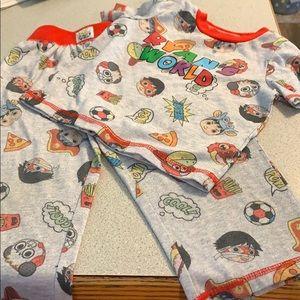 Other - Ryan's world boy's pajamas